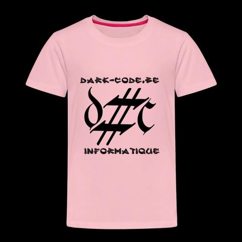 Dark-Code Black Gothic Logo - T-shirt Premium Enfant