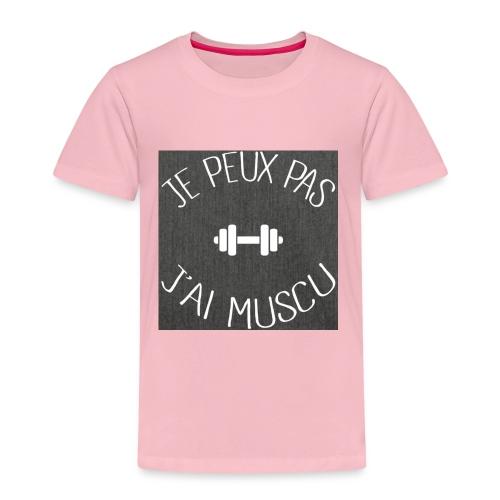 je peux pas j'ai muscu - T-shirt Premium Enfant