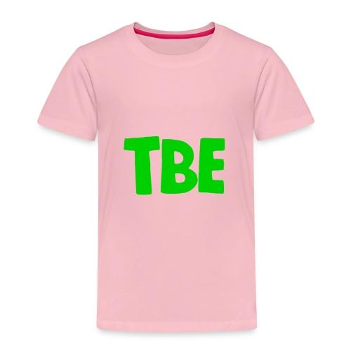 t shirt zwart groen logo - Kinderen Premium T-shirt