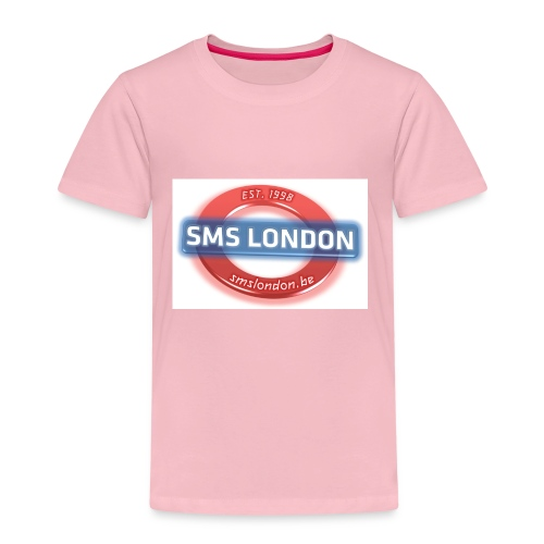 SMS London logo - Kinderen Premium T-shirt