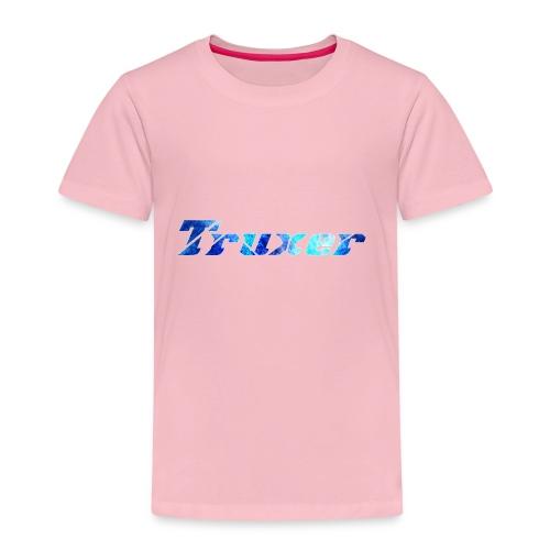 Truxer Name with Sick Blue - Kids' Premium T-Shirt