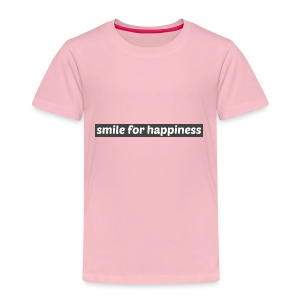 smile for happiness - Premium-T-shirt barn