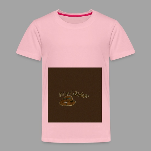 Günni Günter Desing Brown Background- - Kinder Premium T-Shirt