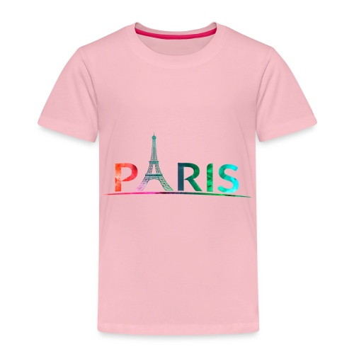 Paris Multicolor - Camiseta premium niño