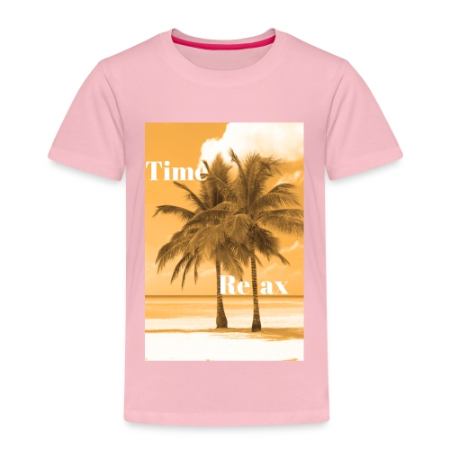 Time to Relax - Kinder Premium T-Shirt