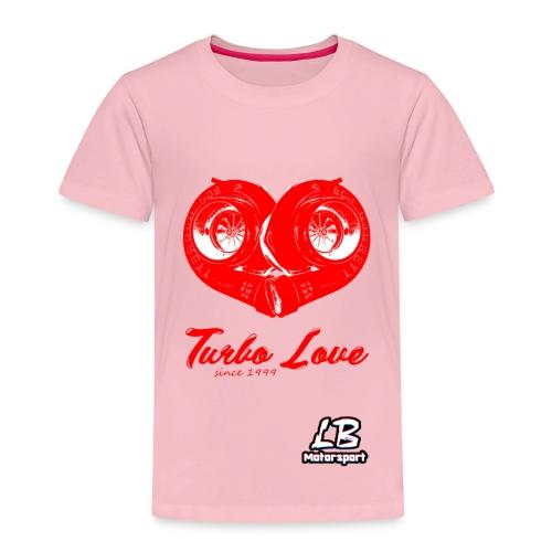 LB Motorsport - Turbo Love - Kinder Premium T-Shirt