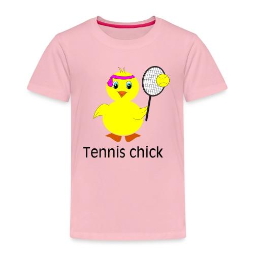 Tennis Chick - Kinder Premium T-Shirt