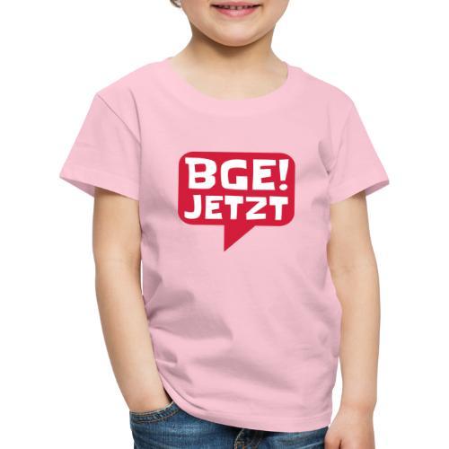 BGE! Jetzt - Die Bewegung - Kinder Premium T-Shirt