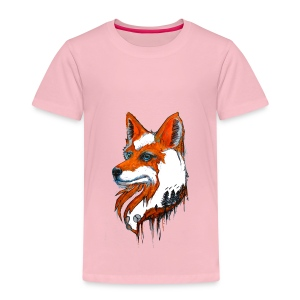 David Pucher Art Fuchs - Kinder Premium T-Shirt