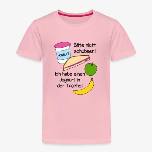 Joghurt - Schulkind, Einschulung, lustige Sprüche - Kinder Premium T-Shirt
