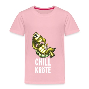 Chillkröte - Kinder Premium T-Shirt