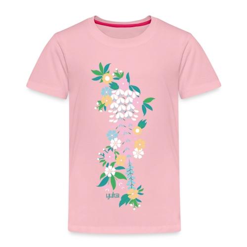yuka cherry blossom2 - Kinder Premium T-Shirt
