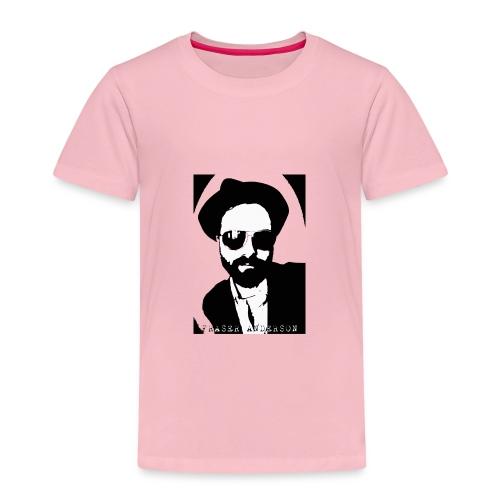 B W Pop art design trans - Kids' Premium T-Shirt