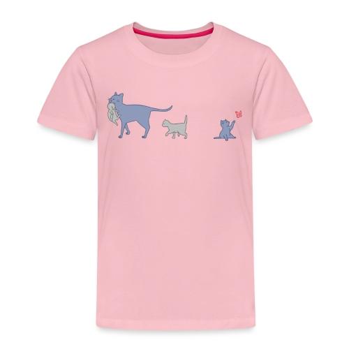 Cats - Maglietta Premium per bambini