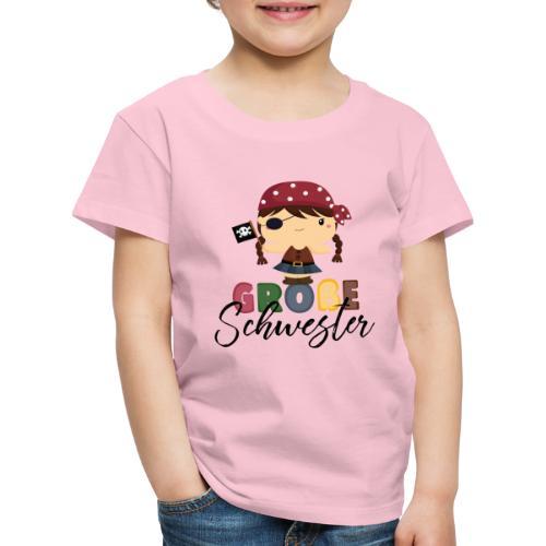 Große Schwester Piraten - Kinder Premium T-Shirt