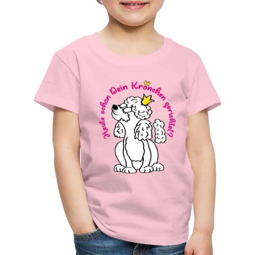 Schon dein Krönchen gerichtet heute? - Kinder Premium T-Shirt