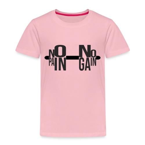 NO PAIN NO GAIN - Camiseta premium niño