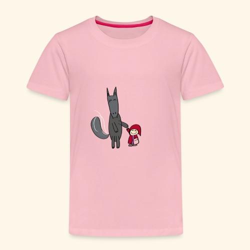Le loup et le petit chaperon rouge - T-shirt Premium Enfant