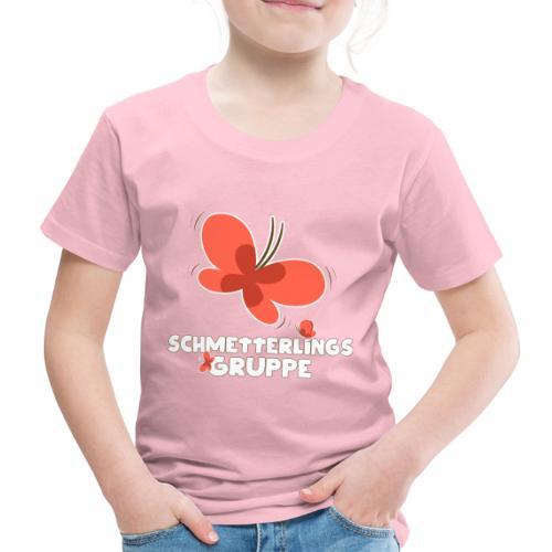 Schmetterling Gruppe Kindergarten - Kinder Premium T-Shirt