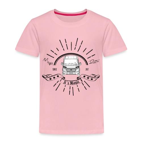 Magic Route - It's Magic Vanlife - Kinder Premium T-Shirt