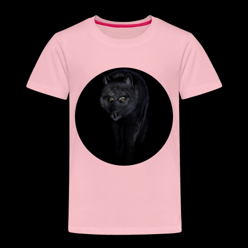 Black Wolf - Kids' Premium T-Shirt