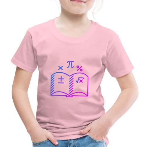 Wiskunde Boek - Kinderen Premium T-shirt