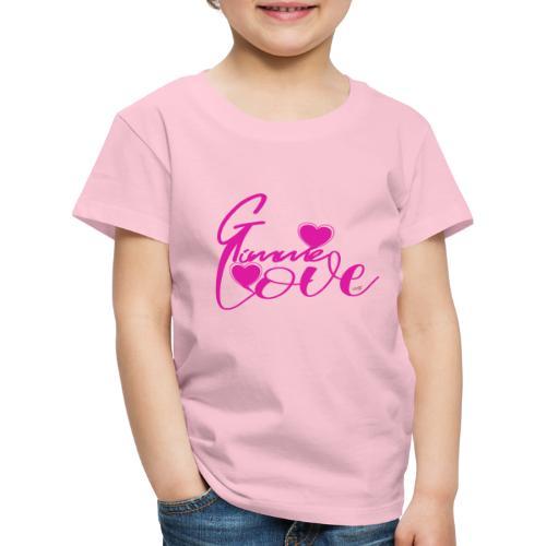GimmeLove - Kinderen Premium T-shirt