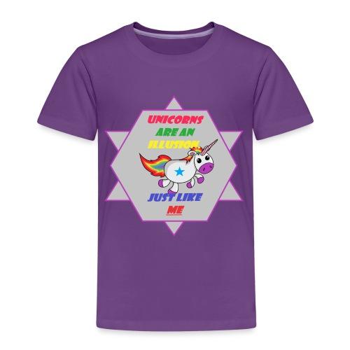 Unicorn with joke - Kids' Premium T-Shirt