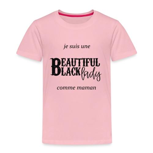 comme maman black - T-shirt Premium Enfant