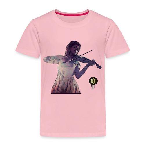 Power of Violine - Kinder Premium T-Shirt