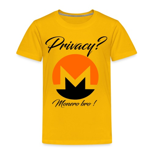 Moneroooo - T-shirt Premium Enfant