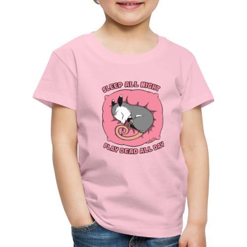 Vita da Opossum rosa - Maglietta Premium per bambini