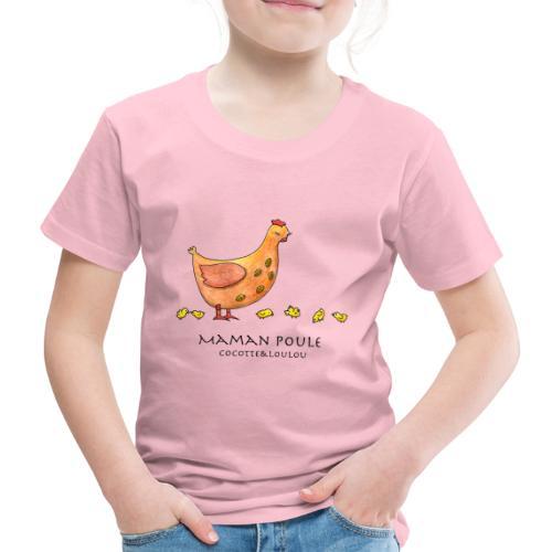 Maman poule - T-shirt Premium Enfant