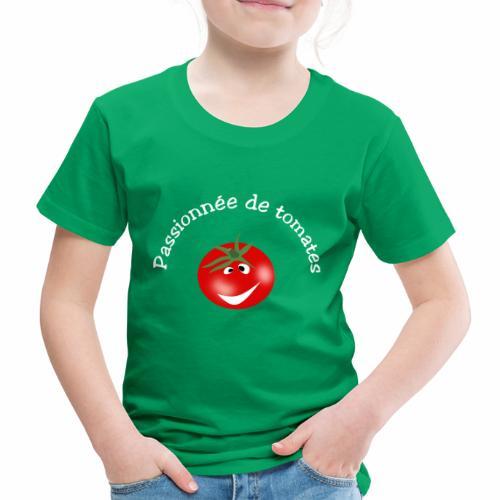 Passionnée de tomates - Kids' Premium T-Shirt
