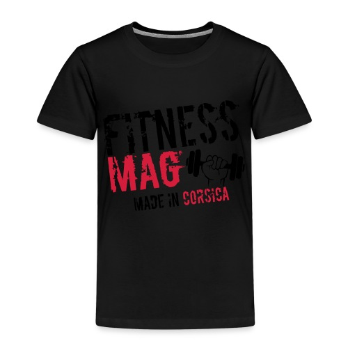 Fitness Mag made in corsica 100% Polyester - T-shirt Premium Enfant
