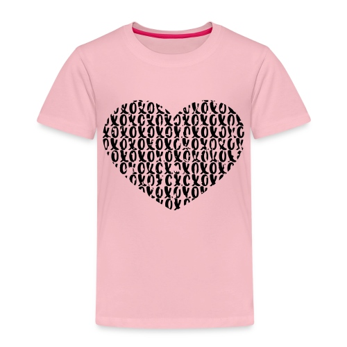 heart - love - Kinderen Premium T-shirt
