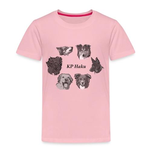 Tintti - Lasten premium t-paita