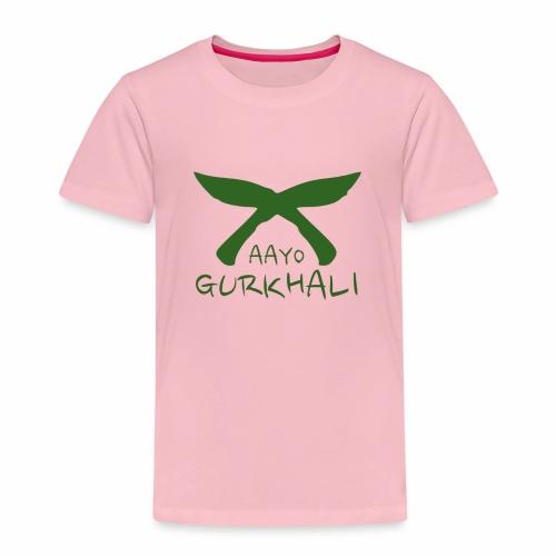 Aayo Gurkhali - Khukuri cross - Kids' Premium T-Shirt