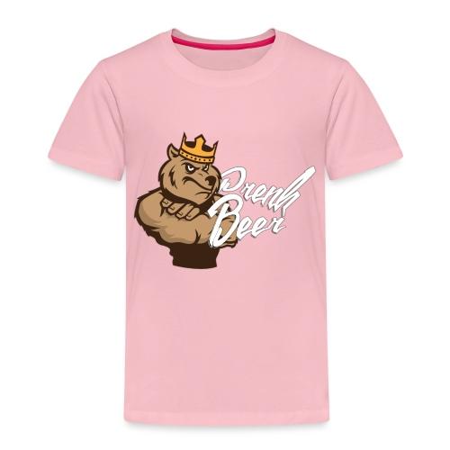 King PrenkBeer #1 - Kinderen Premium T-shirt