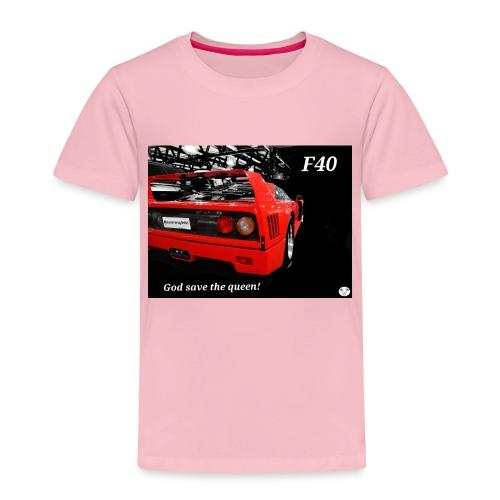 f40 - Maglietta Premium per bambini