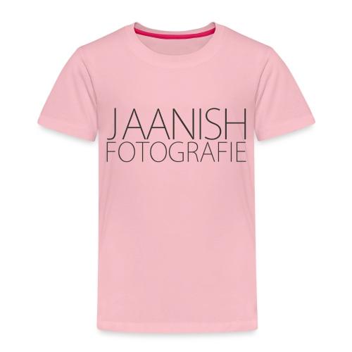 LOGO JAANISH PNG - Kinderen Premium T-shirt