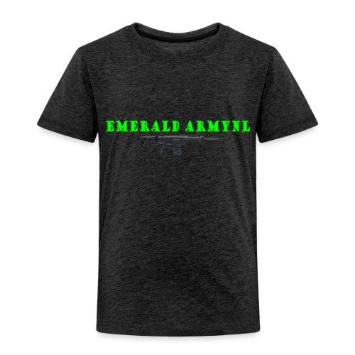 EMERALDARMYNL LETTERS! - Kinderen Premium T-shirt
