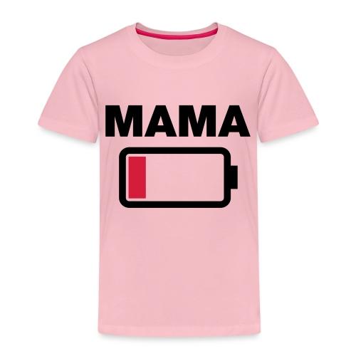 Batterij mama leeg - Kinderen Premium T-shirt