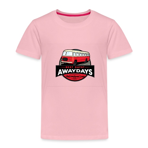 best days? Awaydays! - Kinderen Premium T-shirt
