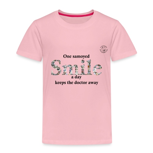 samoyedsmile - Kinderen Premium T-shirt