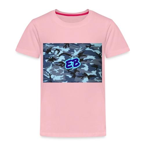 Ellibradyoffical blue camo - Kids' Premium T-Shirt