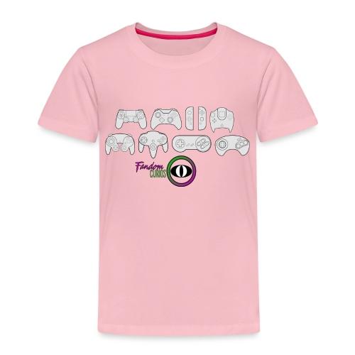 Fandom Curios Controller Design - Kids' Premium T-Shirt