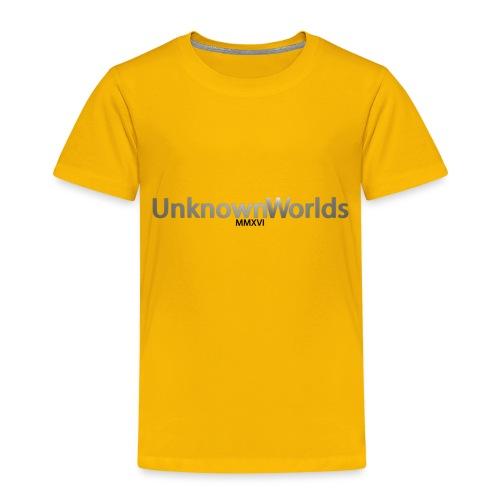 UnknownWorldsLang - Kinder Premium T-Shirt
