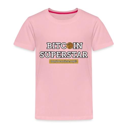 bitcoin superstar - Maglietta Premium per bambini
