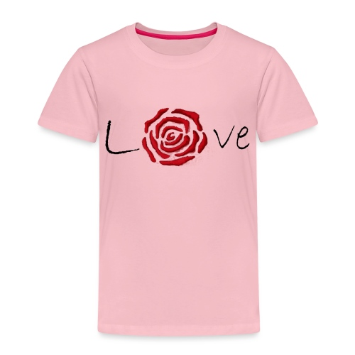 Rose-Love - T-shirt Premium Enfant
